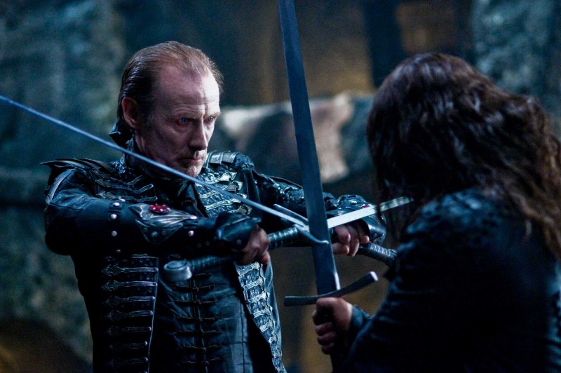 Bill Nighy in una scena di Underworld: La ribellione dei Lycans
