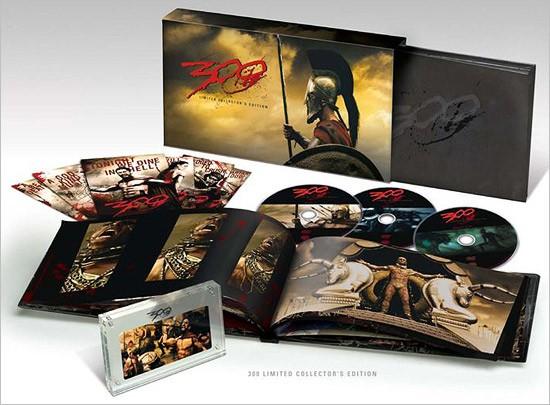 La copertina di 300 - Edizione limitata per collezionisti (dvd)