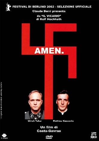 La copertina di Amen (dvd)