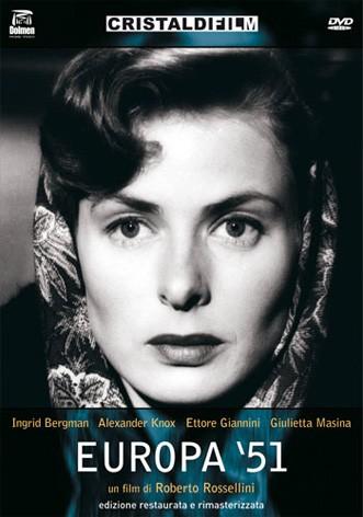 La copertina di Europa '51 (dvd)