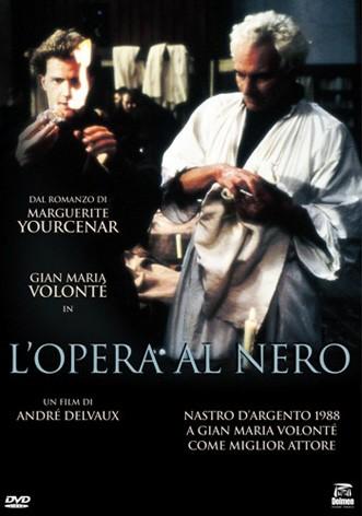 La copertina di L'opera al nero (dvd)