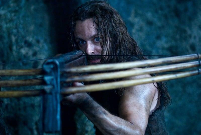 Michael Sheen in un'immagine del film Underworld: La ribellione dei Lycans