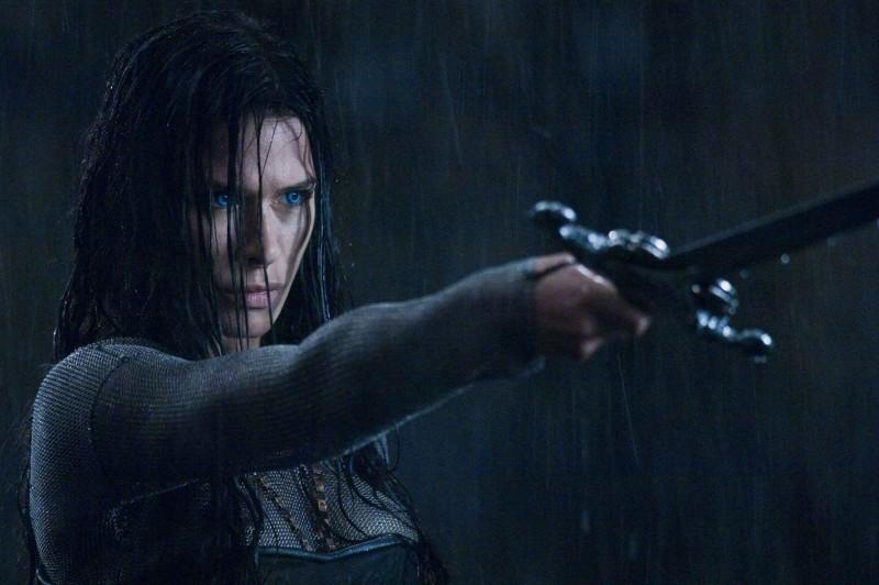 Rhona Mitra in un'immagine del film Underworld: La ribellione dei Lycans