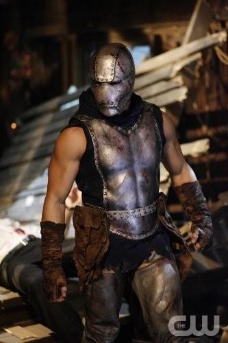 Un momento dell'episodio 'Legion' della ottava stagione della serie tv Smallville