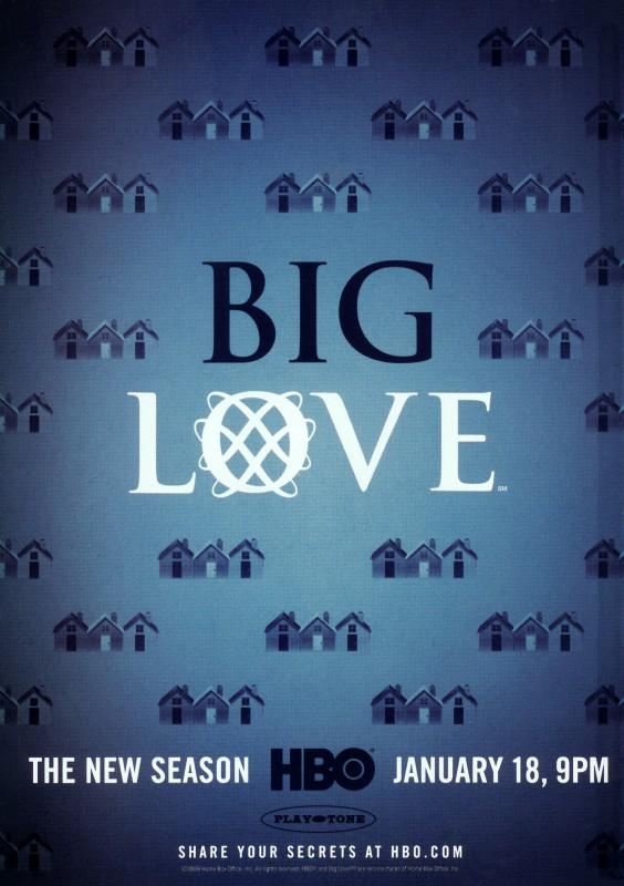 Un poster della terza stagione di Big Love