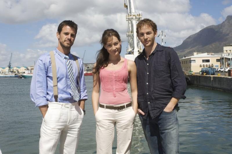 Una foto dal set del film Ex