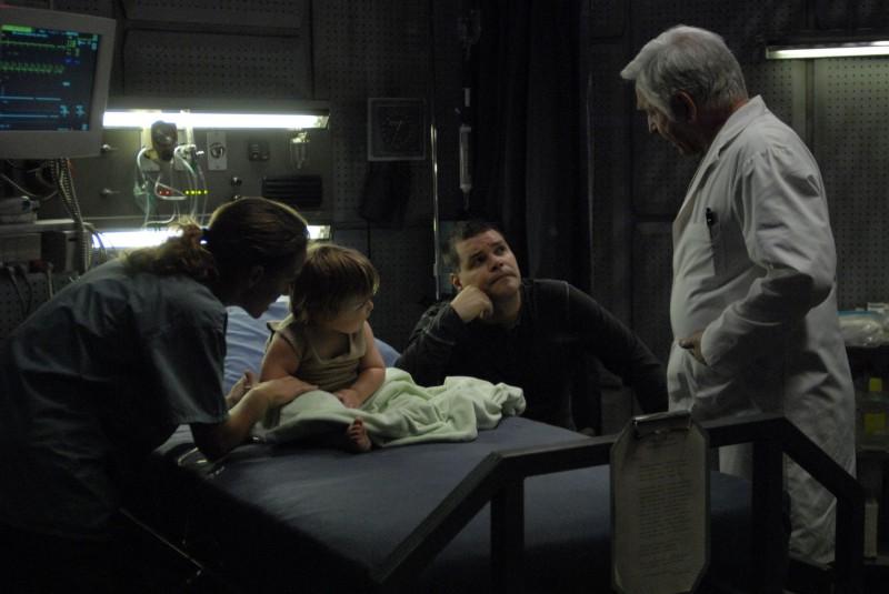 Una scena dell'episodio A Disquiet Follows My Soul di Battlestar Galactica