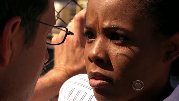 George Newbern con Dana Davis  nell'episodio 'Soul Mates' della serie tv Criminal Minds