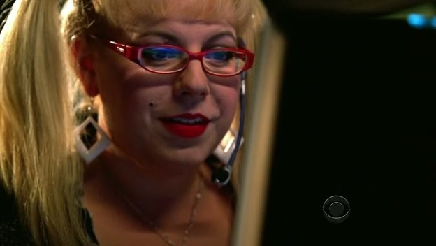 Kirsten Vangsness in un momento dell'episodio 'Soul Mates' della serie tv Criminal Minds