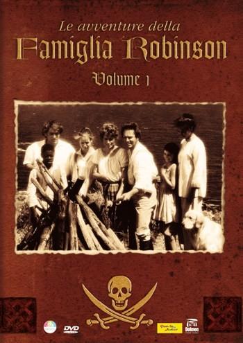 La copertina di Le avventure della famiglia Robinson (dvd)