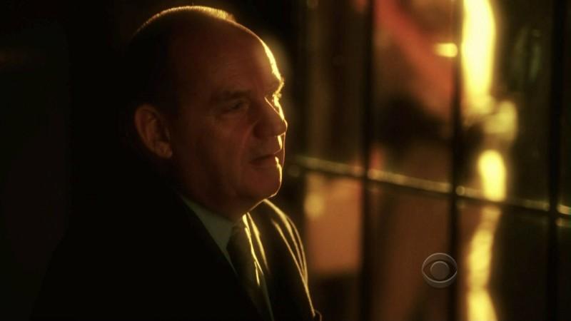 Paul Guilfoyle in una scena dell'episodio 'One to go' della serie tv CSI Las Vegas