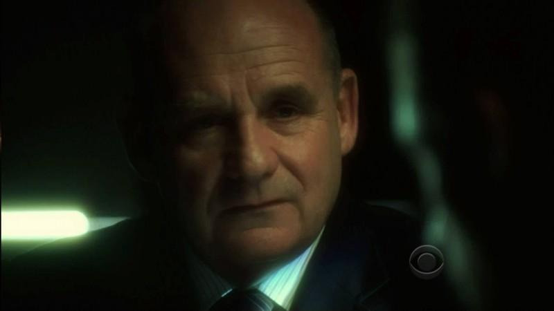 Paul Guilfoyle nel ruolo del Capitano Brass in una scena dell'episodio 'One to go' della serie tv CSI Las Vegas