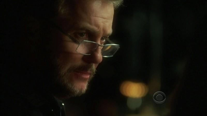 William Petersen in una scena dell'episodio 'One to go' della serie televisiva CSI Las Vegas