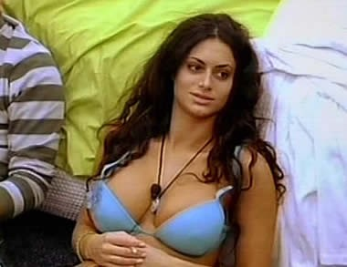 Grande Fratello 2009 - l'atomica Cristina Del Basso
