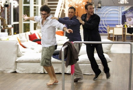 Grande Fratello 9 - Nicola, Marcello e Gianluca