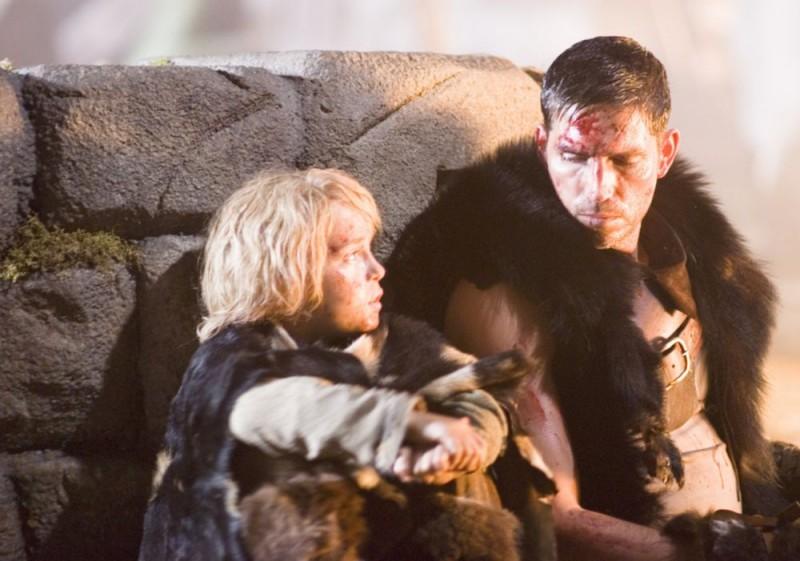 James Caviezel in un'immagine di Outlander