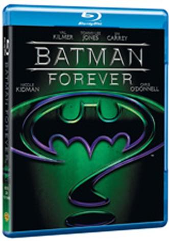 La copertina di Batman forever (blu-ray)