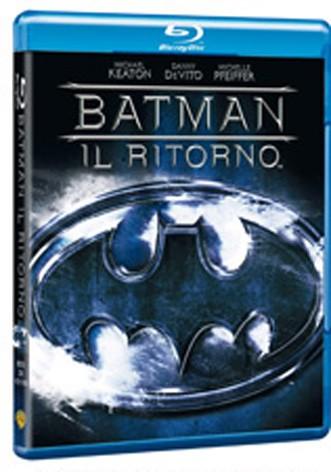 La copertina di Batman - Il ritorno (blu-ray)