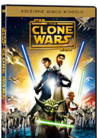 La copertina di Star Wars: The Clone Wars (dvd)