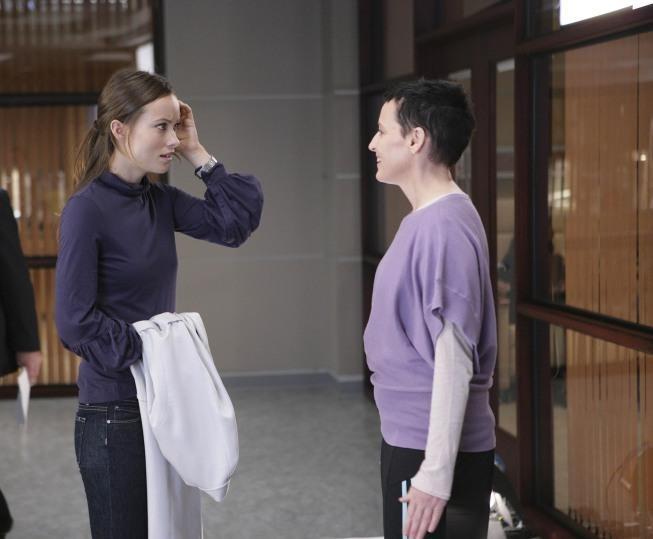 Olivia Wilde in una scena tratta da Painless di Dr. House: Medical Division
