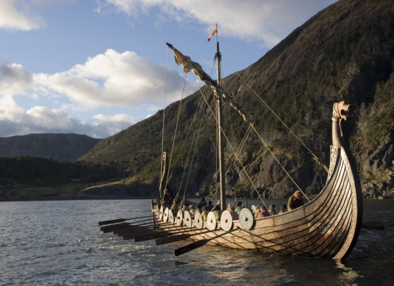 Un'immagine del film Outlander