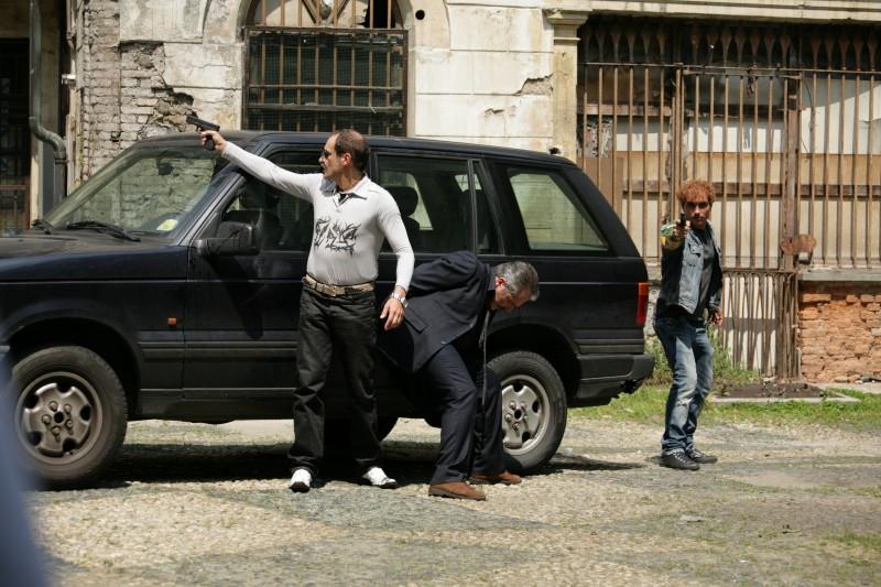 Una foto di scena dell'episodio La famiglia de Il bene e il male
