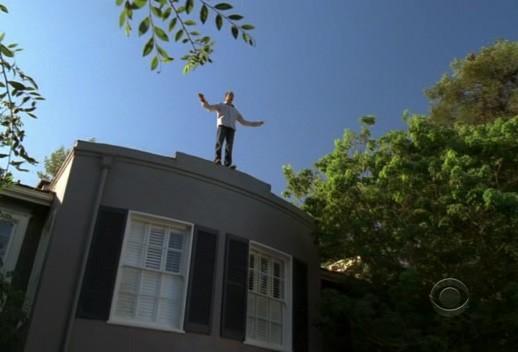 Una sequenza dell'episodio Life on the Line della quarta stagione del serial Ghost Whisperer