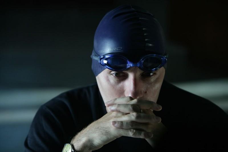 Valerio Mastandrea in un'immagine del film Giulia non esce la sera
