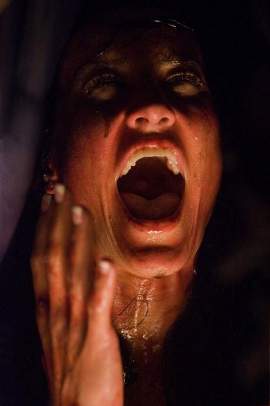America Olivo in un'immagine dell'horror Venerdì 13
