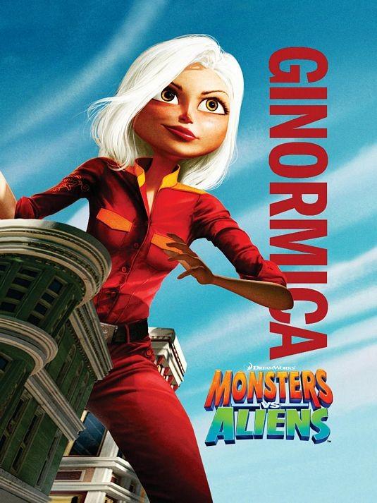 Character Poster per Mostri contro Alieni - Ginormica