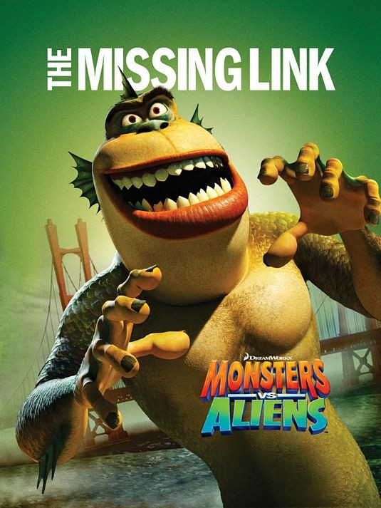 Character Poster per Mostri contro Alieni - The Missing Link