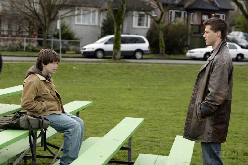 Brock Kelly e Colin Ford in un momento dell'episodio Afterschool Special di Supernatural