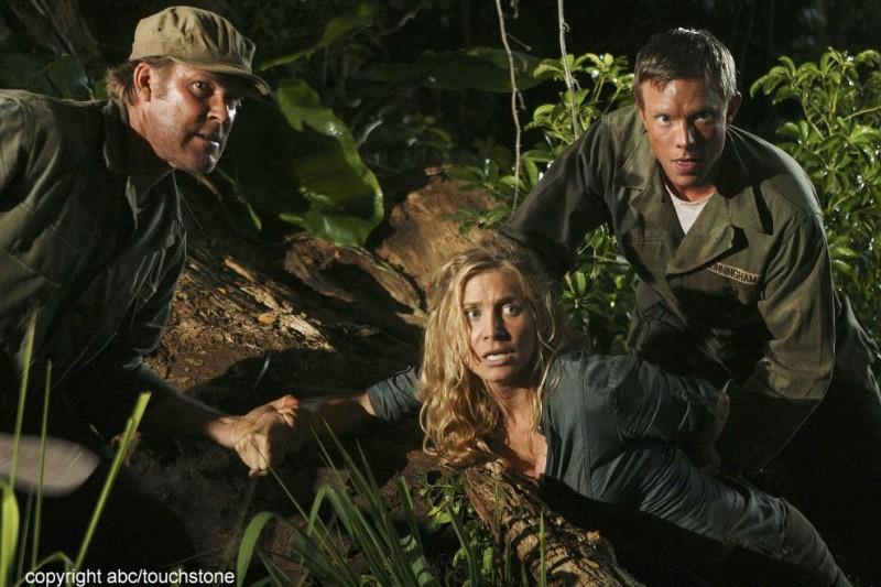 Elizabeth Mitchell in un momento drammatico dell'episodio The Lie di Lost