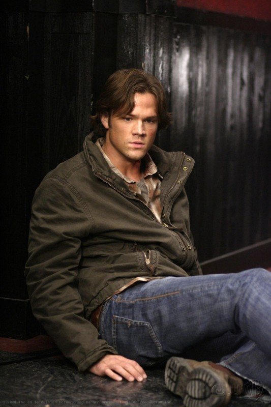 Jared Padalecki in un momento dell'episodio Sex and Violence di Supernatural