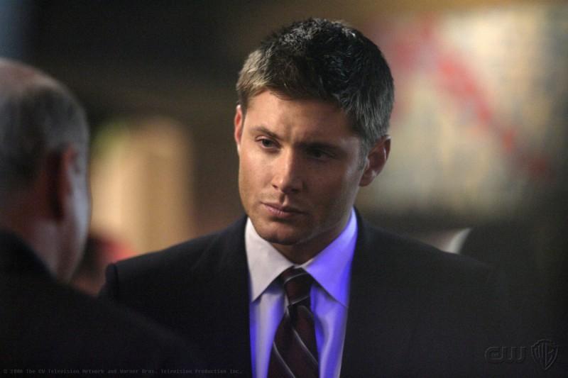 Jensen Ackles è Dean Winchester nell'episodio Sex and Violence di Supernatural