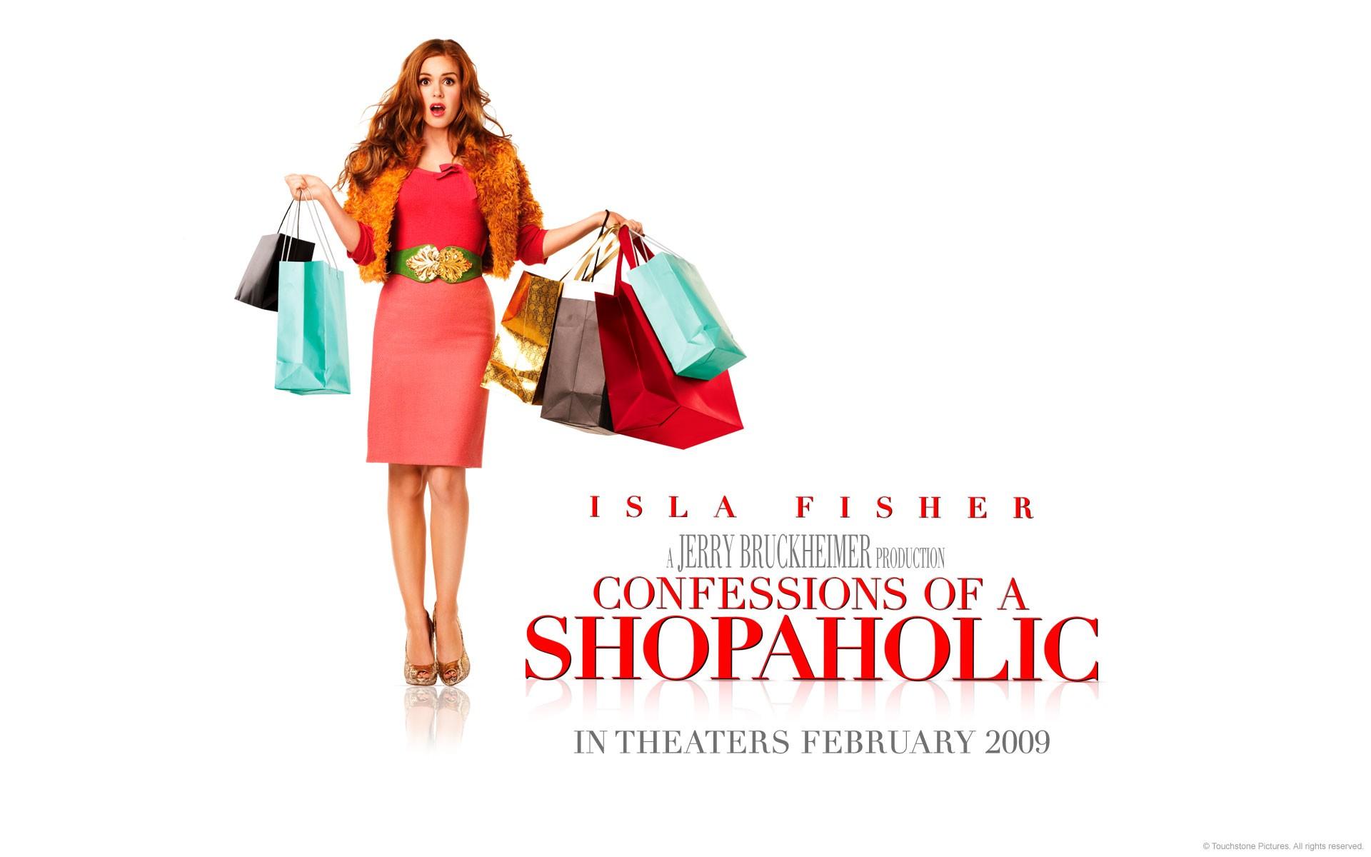 Wallpaper del film I Love Shopping con Isla Fisher