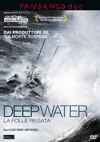 La copertina di Deep Water - La folle regata (dvd)