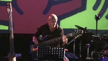 Bob Masala durante il live a Celimontana Jazz