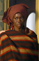 Fatou Kine Boye nel ruolo di Bakhita