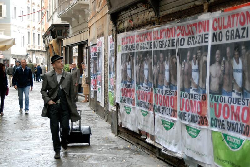Filippo Nigro in un'immagine del film Diverso da chi?