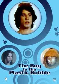 La copertina di The Boy in the plastic bubble (dvd)