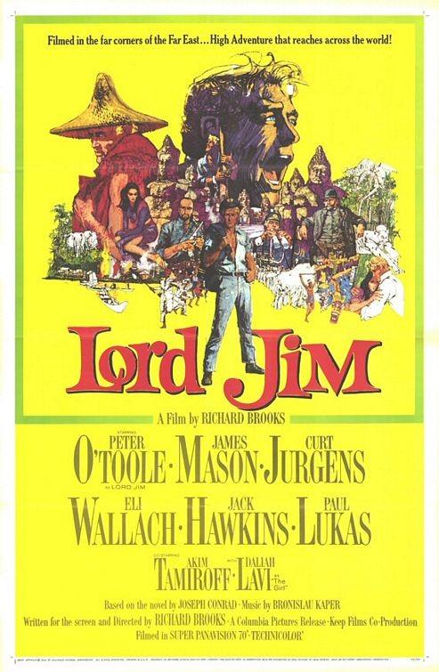 La locandina di Lord Jim
