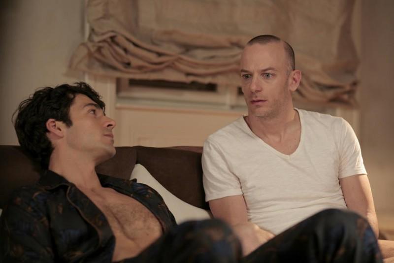 Luca Argentero e Filippo Nigro in un'immagine del film Diverso da chi?