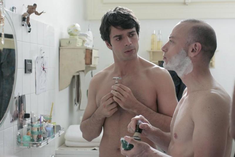 Luca Argentero e Filippo Nigro in un'immagine della commedia Diverso da chi?, diretto da Umberto Carteni