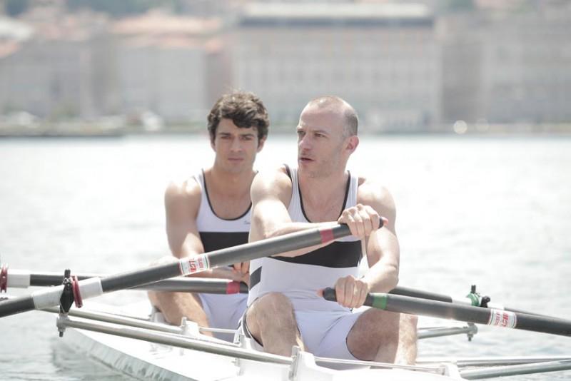 Luca Argentero e Filippo Nigro in una sequenza di Diverso da chi?