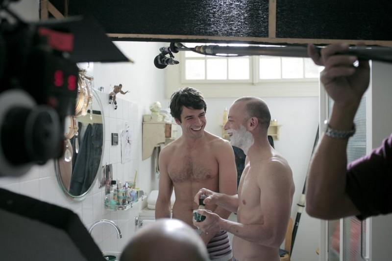 Luca Argentero e Filippo Nigro sul set del film Diverso da chi?