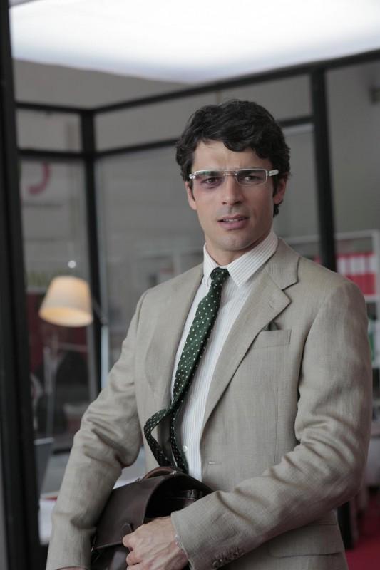 Luca Argentero sul set della commedia Diverso da chi?