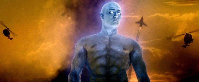 Billy Crudup è Jon Osterman nel film Watchmen