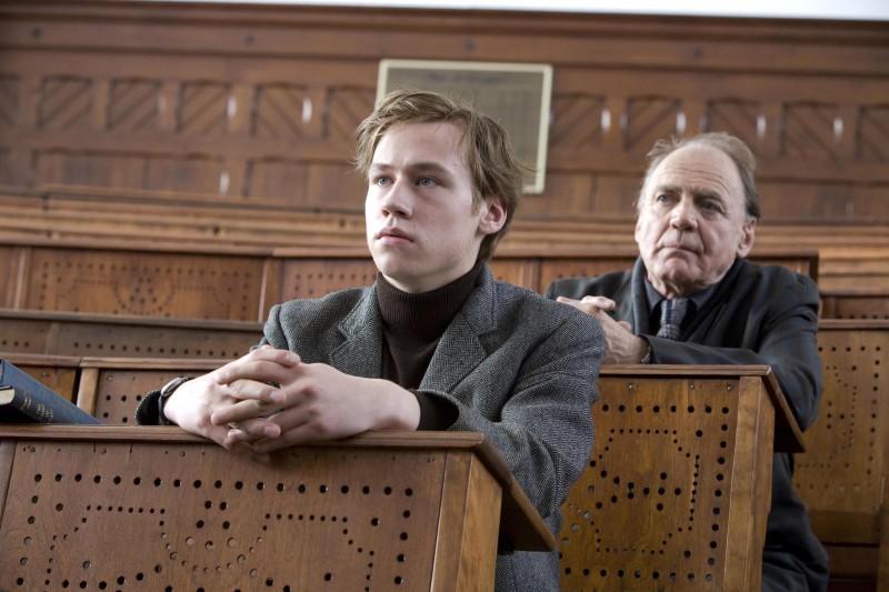 David Kross in un'immagine del film The Reader