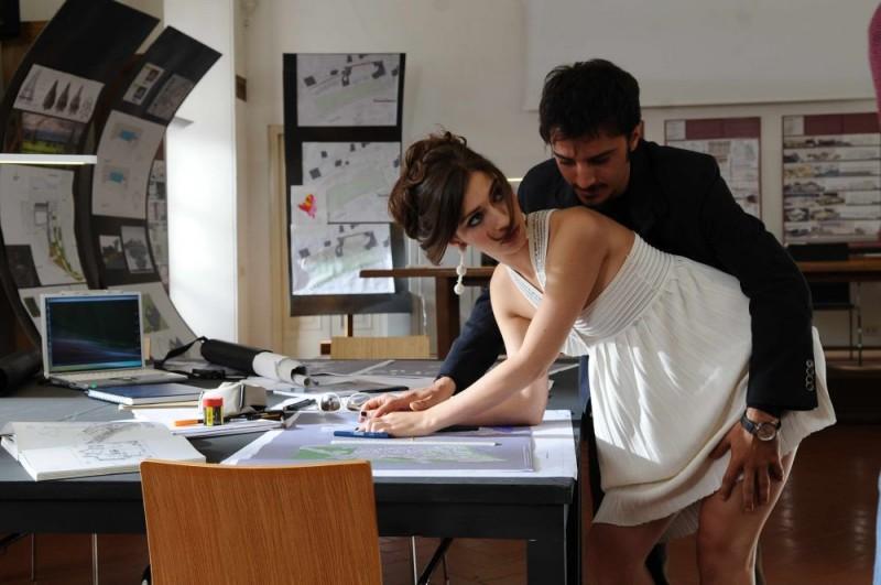 Giulia Steigerwalt e Nicolas Vaporidis in una sequenza del film Iago